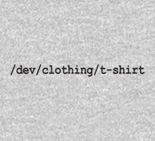 /dev/clothing/t-shirt Kids Tee
