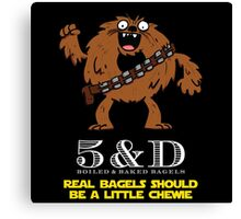 A little chewie Canvas Print