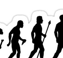 Evolution of Man RC Chopper Sticker