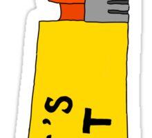 IT'S LIT (orange) Sticker
