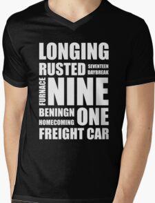 Trigger words Mens V-Neck T-Shirt