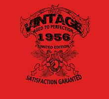 Birthday 60 1956 Vintage Aged to Perfection Limited Edition Unisex T-Shirt