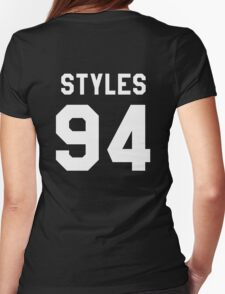 transparent black Womens Fitted T-Shirt