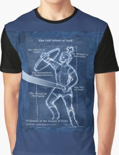 Full Armor of God - Warrior 4 Graphic T-Shirt