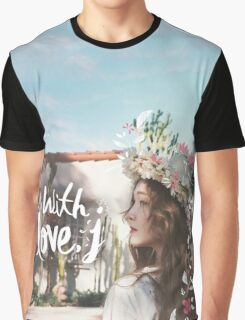 Jessica - With Love J Graphic T-Shirt