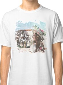 Jessica - With Love J Classic T-Shirt