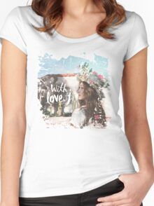 Jessica - With Love J Women's Fitted Scoop T-Shirt