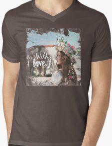 Jessica - With Love J Mens V-Neck T-Shirt
