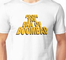 From the Era of Boompap - Gold Unisex T-Shirt