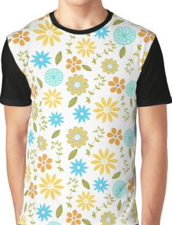 Happy Day - Floral Graphic T-Shirt
