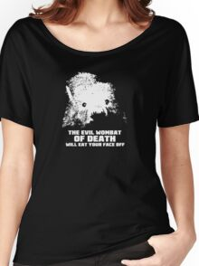 The Evil Wombat of Death Women's Relaxed Fit T-Shirt