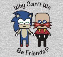 Sonic & Dr.Robotnik One Piece - Long Sleeve