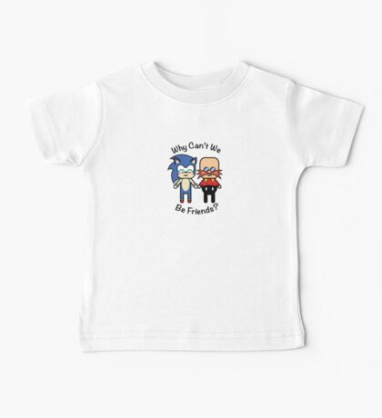 Sonic & Dr.Robotnik Baby Tee