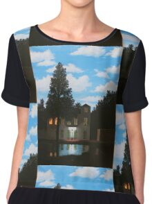 Empire of Light - Magritte Chiffon Top