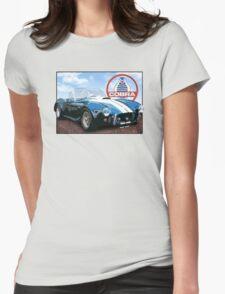 1960 ac cobra Sky Womens Fitted T-Shirt