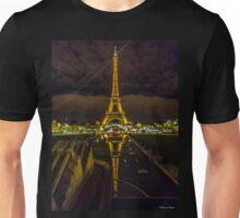 Eiffel Tower from Trocaderos Unisex T-Shirt