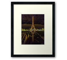 Eiffel Tower from Trocaderos Framed Print