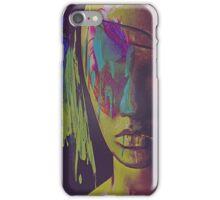 Judgement Figurative Abstract Portrait iPhone Case/Skin