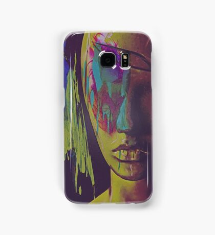 Judgement Figurative Abstract Portrait Samsung Galaxy Case/Skin