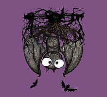 Happy Vampire Bat by Studio8107