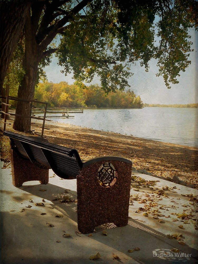 Come Sit by the Lake by Lucinda Walter