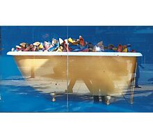 Tub Of Shoes Photographic Print