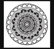 Mandala Garden One Piece - Short Sleeve