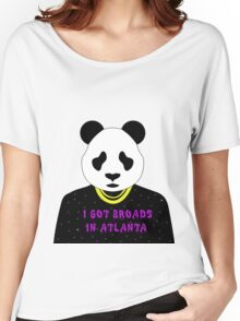Panda Desiigner Women's Relaxed Fit T-Shirt