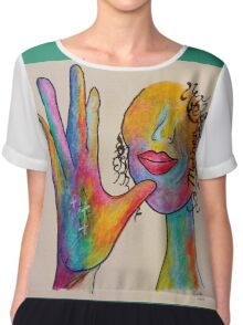 MOTHER - American Sign Language ASL Chiffon Top