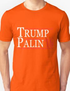 Donald  Trump and Sarah Palin 2016 T-Shirt