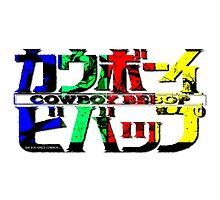Space Cowboy Title Photographic Print