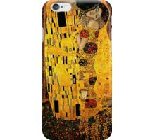 Gustav Klimt The Kiss iPhone Case/Skin