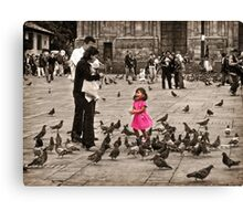 Oh Mom and Dad,  It's So Much Fun! Canvas Print