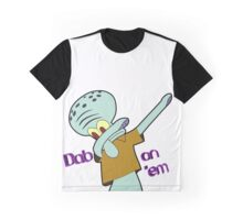 Dabbing Squidward Graphic T-Shirt