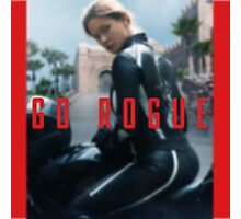GO ROGUE Photographic Print