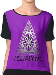 Pleiadians Chiffon Top