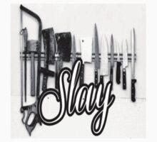 Slayy Baby Tee