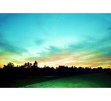 Creator's Sky Painting Photographic Print