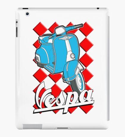 Funny Vespa Chequer Board iPad Case/Skin