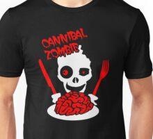 Cannibal Brain Zombie Unisex T-Shirt