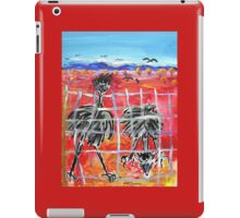 The Barrier , Outback  Emus.  iPad Case/Skin