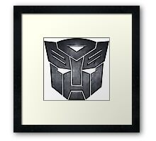 transformers jawn Framed Print