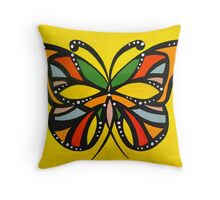 Autum Butterflies Throw Pillow