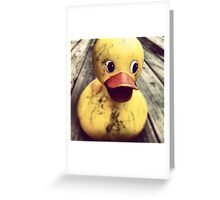 The Duckest Timeline - Photograph Greeting Card