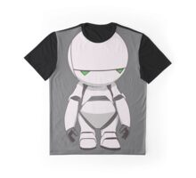 Marvin the Paranoid Graphic T-Shirt