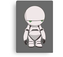 Marvin the Paranoid Canvas Print