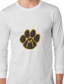 MIZ Pawprint  Long Sleeve T-Shirt