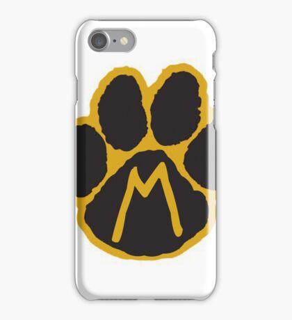 MIZ Pawprint  iPhone Case/Skin