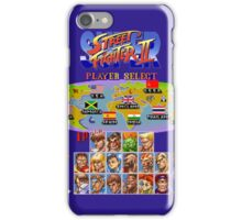 Super Street Fighter II iPhone Case/Skin