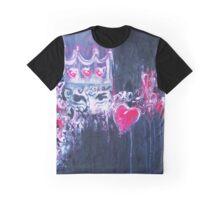 Grunge Princess Square Graphic T-Shirt